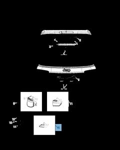Mistlamp voor Jeep Compass
