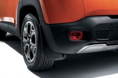 Geprofileerde achterspatlappen voor Jeep Renegade