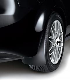 Rubberen spatlappen voor achterwielen voor Alfa Romeo 159