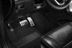 Sportieve pedalen, aluminium voor Jeep Grand Cherokee